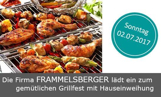 Frammelsberger Holzhaus lädt zum gemütlichen Grillfest