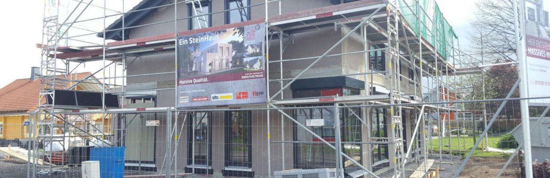 Neues Musterhaus der Firma Ein SteinHaus