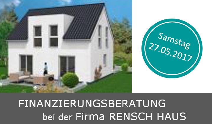 Finanzierungsberatung bei der Firma RENSCH-HAUS
