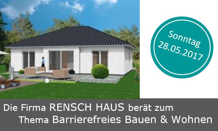 Die Firma RENSCH HAUS berät zum Thema Barrierefreies Bauen & Wohnen