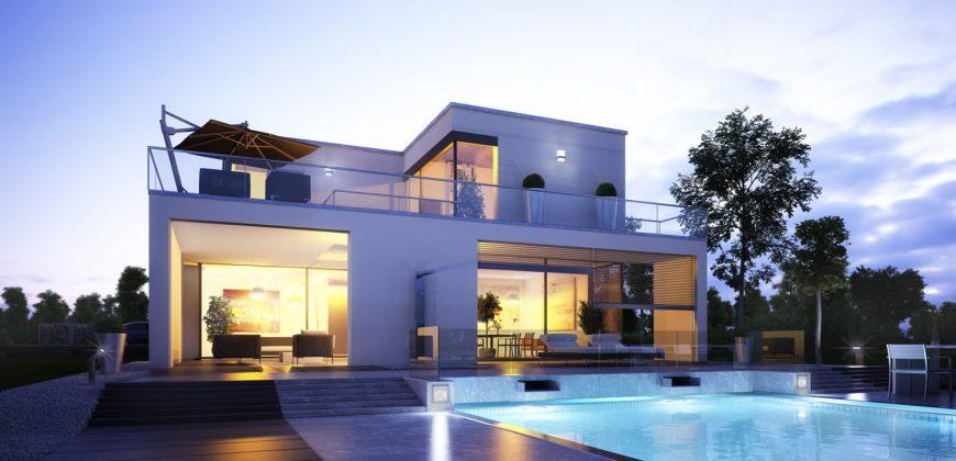Einfamilienhaus – Planungsvorschlag mit Garagenanbau