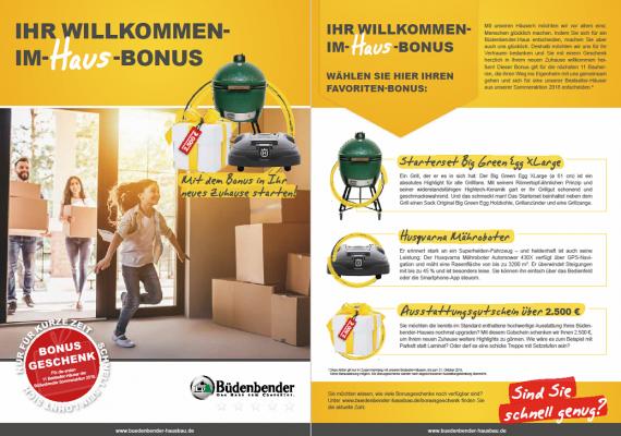 Sommeraktion bei Büdenbender Hausbau in Mülheim-Kärlich