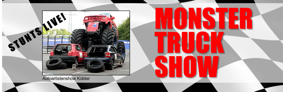 MONSTER TRUCK SHOW am 29. September 2019