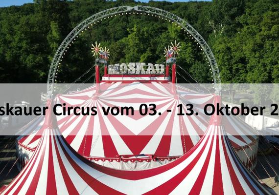 Moskauer Circus zu Gast in der Musterhausausstellung