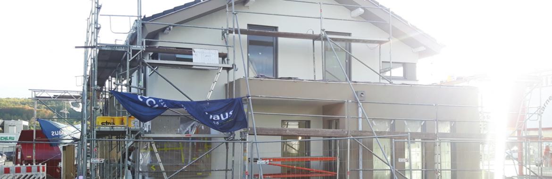 Baufortschritte bei Schwabenhaus