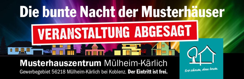 """2. """"Bunte Nacht der Musterhäuser"""" leider abgesagt"""